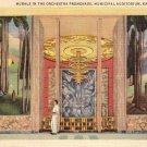 Murals in Municipal Auditorium at Kansas City Missouri MO, 1937 Curt Teich Postcard - 4325