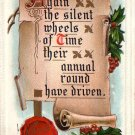 Raphael Tuck & Sons Vintage New Year's Postcard - 4339