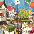 1968 World's Fair HemisFair in San Antonio Texas TX, Chrome Postcard - 4360