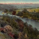 Des Moines River from Boone Iowa IA, 1916 Vintage Postcard - 4399