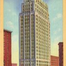 Tower Petroleum Building in Dallas Texas TX, 1935 Curt Teich Linen Postcard - 4489