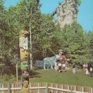 Castle Rock near St. Ignace Michigan MI Chrome Postcard - 4532