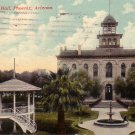 City Hall in Phoenix Arizona AZ 1913 Vintage Postcard - 4573