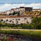 Residence of P.K. Wrigley, Biltmore Estates in Phoenix Arizona AZ Linen Postcard - 4574