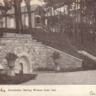 Studebaker Spring in Winona Lake Indiana IN Private Mailing Card - 4599