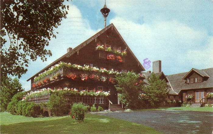 Trapp Family Lodge in Stowe Vermont 1974 Chrome Postcard - 4605