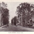 Main Street in Bantam Connecticut CT Vintage Postcard - 4610