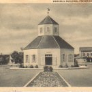 Memorial Building in Fredericksburg Texas TX 1946 Curt Teich Postcard - 4613