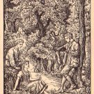 Gedanten, Michaelis Artist Signed Vintage Postcard - 4615
