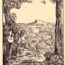 Sonnenaufgang, Michaelis Artist Signed Vintage Postcard - 4617