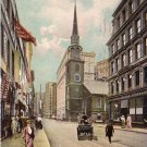 Old South Church in Boston Massachusetts MA Raphael Tuck & Sons Vintage Postcard - 4651
