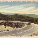 Whiteface Mountain Memorial Highway New York NY Linen Postcard - 4667