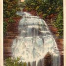 Chequaga Falls Montour Falls in New York NY 1934 Curt Teich Linen Postcard - 4708