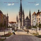 Kaiser-Wilhelm-Gedächtniskirche Church in Berlin Germany 1913 Vintage Postcard - 4718