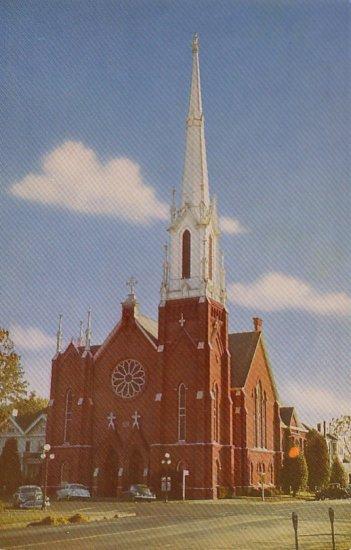 First Methodist Church in Salem Oregon OR Chrome Postcard - 4770