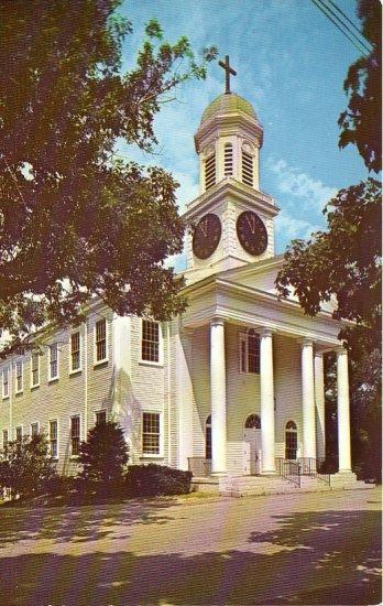 St. Andrews Episcopal Church in Hanover Massachusetts MA Chrome Postcard - 4758