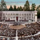 Hearst Greek Theatre at University of California, Berkeley CA Vintage Postcard - 4786