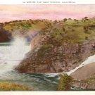 La Grange Dam near Turlock California CA Vintage Postcard - 4792