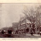 Fireman's Convention on Main Street July 1907 in Ilion New York NY Postcard - 4840