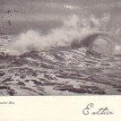 A September Sea, 1906 Vintage Postcard - 4855