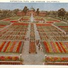 Exposition Park in Los Angeles, California CA Vintage Postcard - 4856