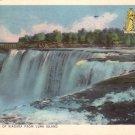 American Falls from Luna Island, Niagara Falls Canada 1957 Vintage Postcard - 4859