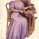 Afternoon Tea 1908 Glamour Vintage Postcard - 4893