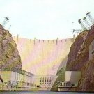 Hoover Dam Nevada NV Chrome Postcard - 4911