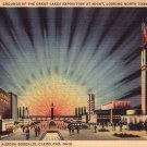 Aurora Borealis at 1936 Great Lakes Exposition Cleveland Ohio OH Postcard - 4933