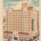 Blue Bonnet Hotel in San Antonio Texas TX Linen Postcard - 4972