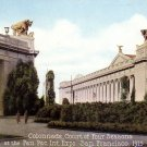 Court of Four Seasons 1915 Panama Pacific International Exposition Mitchell Postcard - 4976