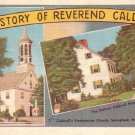 Caldwell's Presbyterian Church, Springfield New Jersey NJ Postcard - 4995