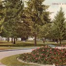 University of Oregon Campus in Eugene OR Vintage Postcard - 4997