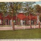 Old Prison House at Fortress Monroe Virginia VA Curt Teich Vintage Postcard - 4998