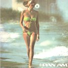 Pan American Airlines Advertising Florida Chrome Postcard - 5004