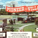 Harold Warp's Pioneer Village in Minden Nebraska NE Chrome Postcard - 5005