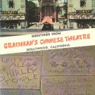 Hand and Footprints in front of Grauman's Chinese Theatre Hollywood California CA Postcard - 5006