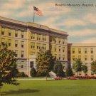 Hendrix Memorial Hospital Abilene Texas TX Mid Century Linen Postcard - 5019