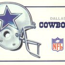 Dallas Cowboys 1985 Schedule Chrome Postcard - 5028