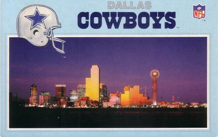 Dallas and the Dallas Cowboys Chrome Postcard - 5029