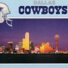 Dallas and the Dallas Cowboys Chrome Postcard - 5029