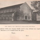 Iowa College Grinnell IA Literature Request Advertising Postcard - 5039