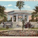 Alamo Plaza and Band Stand San Antonio Texas TX Vintage Postcard - 5048