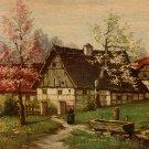 W. Hoy Bauernhof in Bayern Degi No. 1406 Textured Vintage Postcard - 5058