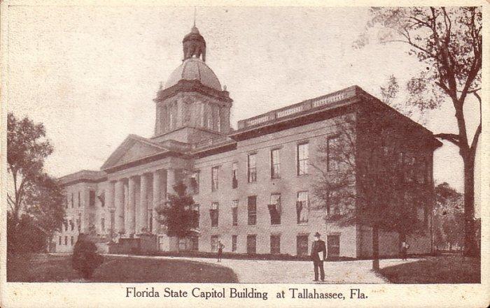 Florida State Capitol Building Tallahassee FL Vintage Postcard - 5063