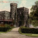 Libby Castle, Fort Washington Park New York NY Vintage Postcard - 5071