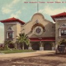 Sunset Depot in San Antonio Texas TX 1911 Vintage Postcard - 5077