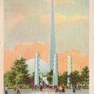 Theme Center at New York 1939 World's Fair Linen Postcard - 5092