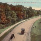 Lower Drive Boulevard from St. Clair Avenue in Cleveland Ohio OH Postcard - 5103