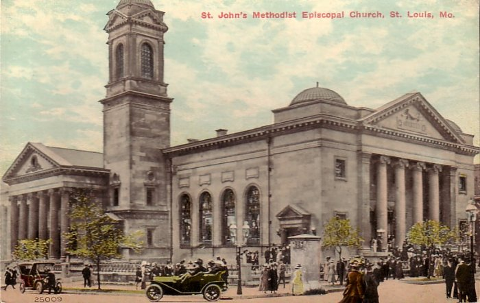 St. John's Methodist Episcopal Church St. Louis Missouri MO Vintage Postcard - 5119